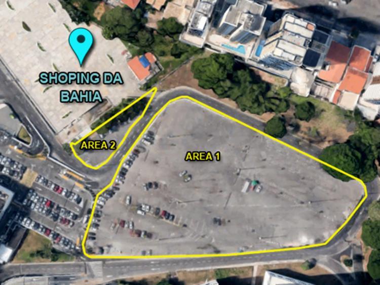 Lotes estão localizados ao lado do Shopping da Bahia - Foto: Divulgação   Sefaz