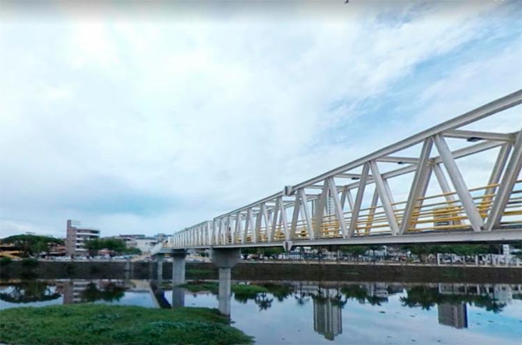 Corpos foram localizados nas imediações do rio Cachoeira - Foto: Reprodução | Google Maps