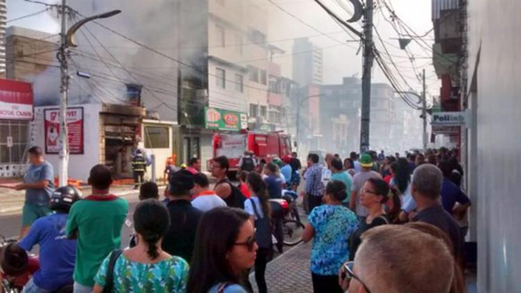 Incêndio destruiu completamente o estabelecimento - Foto: Josivaldo Dias | Pimenta na Muqueca