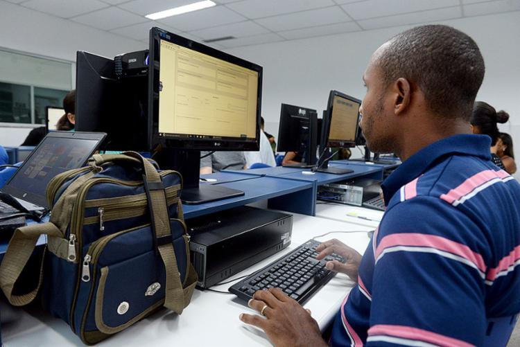 Vagas para ensino médio e fundamental II são oferecidas em 11 municípios - Foto: Angelo Pontes | Divulgação