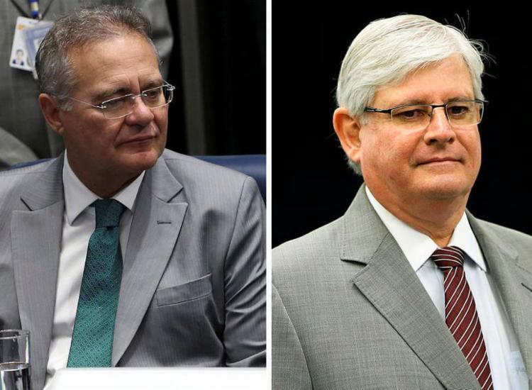 Renan criticou a decisão de Janot de se candidatar a uma vaga no Conselho Superior do Ministério Público Federal - Foto: Divulgação