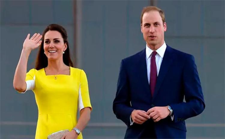 O novo príncipe, filho de Kate e William, ainda não teve o nome divulgado - Foto: AFP