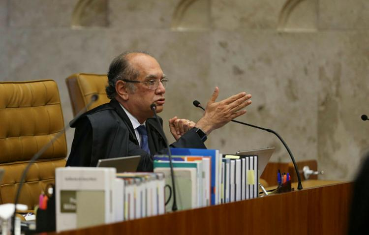 Gilmar Mendes votou a favor do pedido de habeas corpus do ex-presidente Lula - Foto: José Cruz | Agencia Brasil