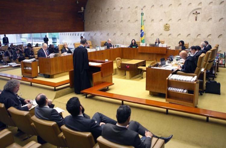 Sessão plenária do STF julgou o habeas corpus do ex-ministro Antonio Palocci - Foto: Nelson Jr   SCO   STF