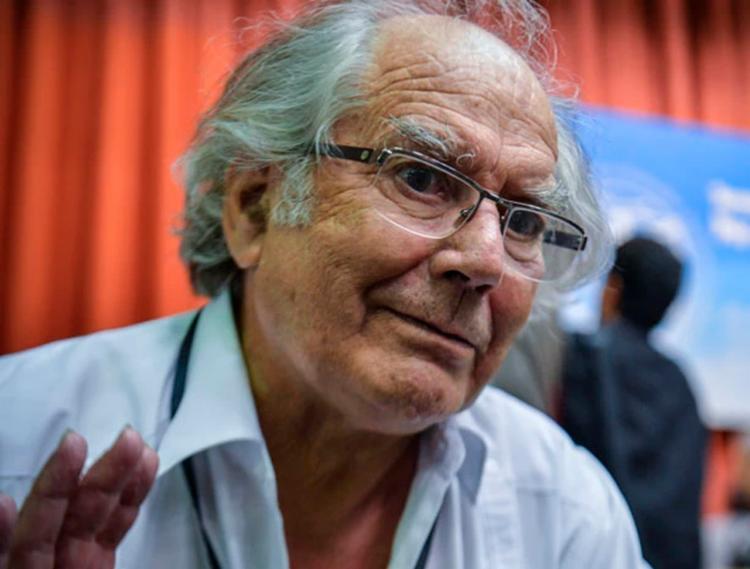 Adolfo ganhou o Nobel da Paz em 1980 - Foto: Adalberto Roque   AFP