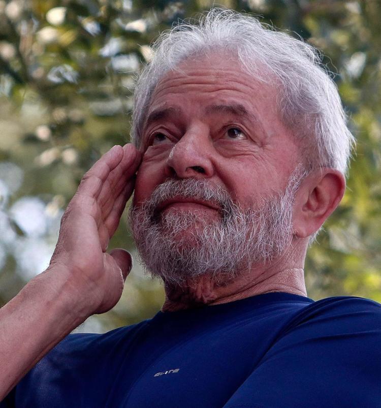 Ex-presidente foi preso no último dia 7 - Foto: Miguel Sachincariol l AFP