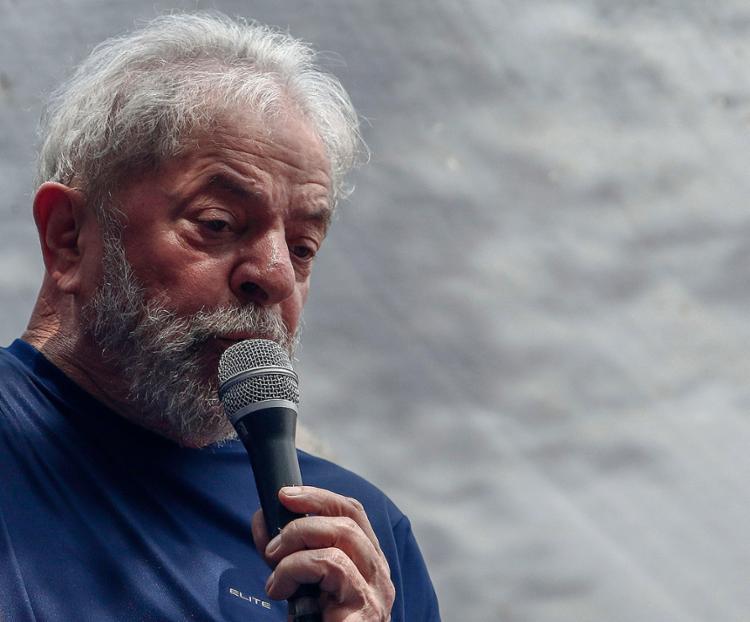 O ex-presidente voltou a pregar sua inocência - Foto: Miguel Schincariol l AFP