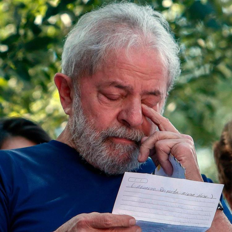 Lula diz sentir tristeza porque a