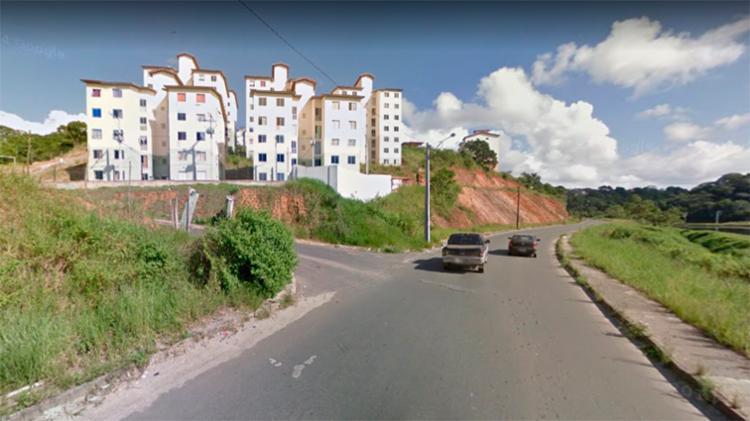 Ato teve início na avenida Assis Valente, por volta das 11h20 - Foto: Reprodução | Google Maps