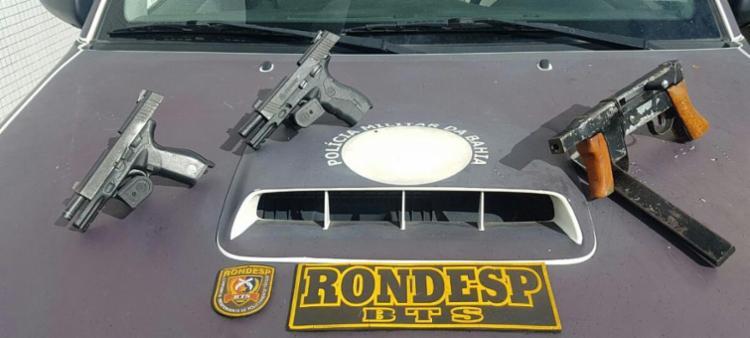 Dois criminosos morreram e oito fugiram - Foto: Divulgação | SSP