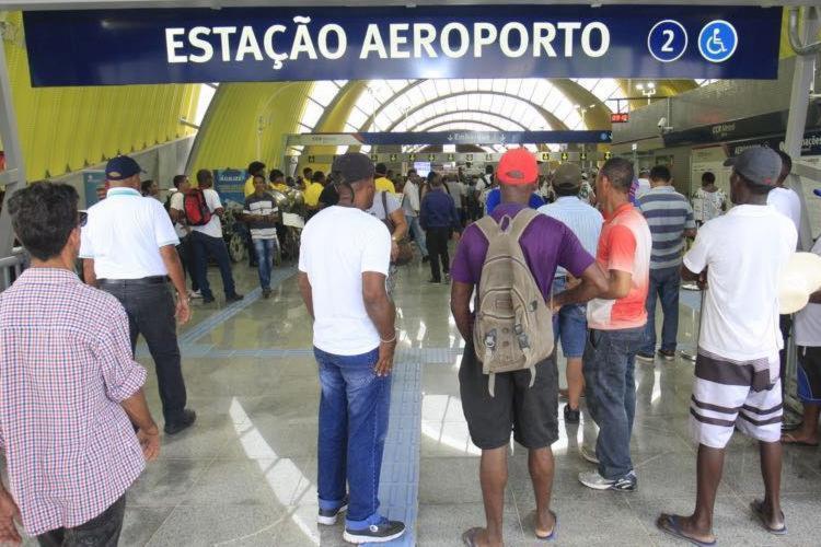 Com inauguração, metrô passa a ter 33 km - Foto: Luciano da Matta | Ag. A TARDE