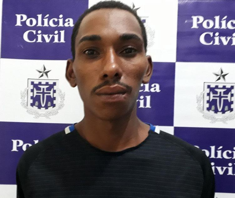 Jean foi encaminhado para o Complexo de Delegacias do Sobradinho - Foto: Divulgação   Polícia Civil