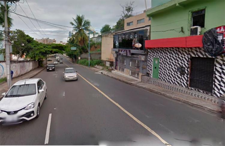 Os veículos já foram retirados da via e o tráfego flui normalmente - Foto: Reprodução | Google Maps
