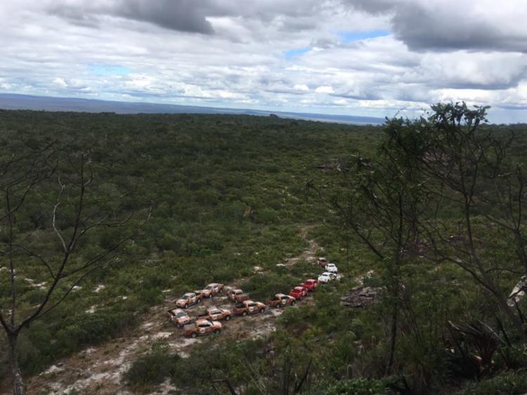 Expedição Nissan visita Serra Das Paridas