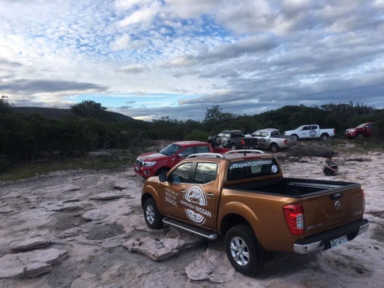 Toca da Figura e Lagoa da Velha são primeiros destinos da Expedição Nissan Bahia