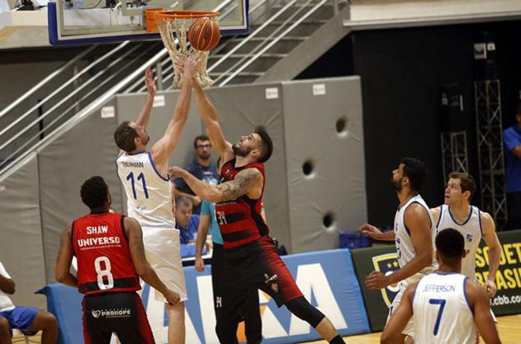 Leão lutou, mas Minas faz valer o mando de campo e saiu com o triunfo - Foto: Orlando Bento l Minas Tênis Clube l Divulgação