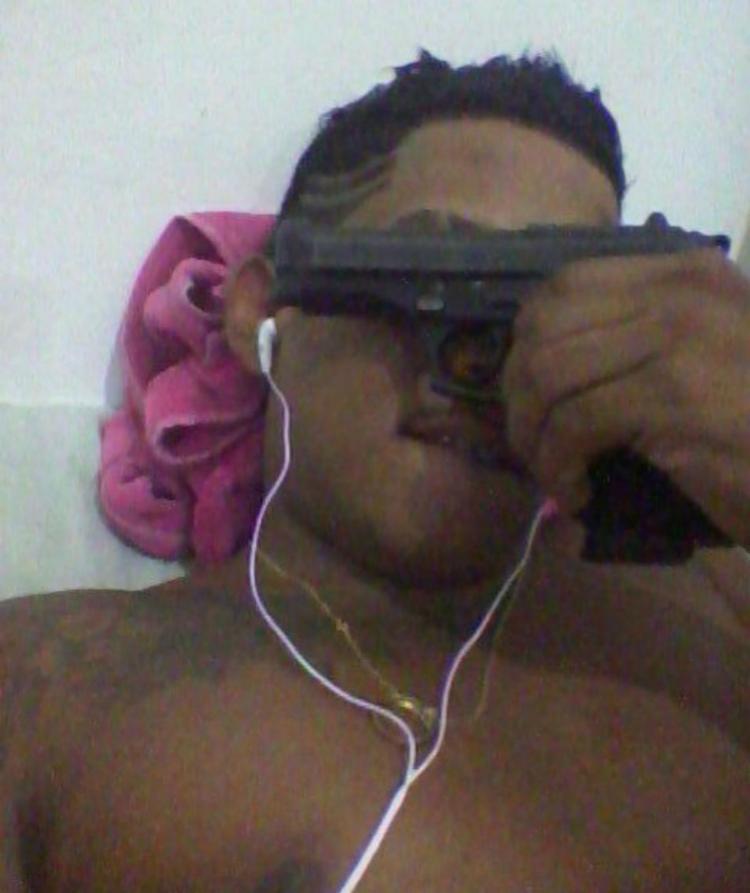 Leonardo Rufino Pereira postava nas redes sociais fotos com armas - Foto: Divulgação   SSP