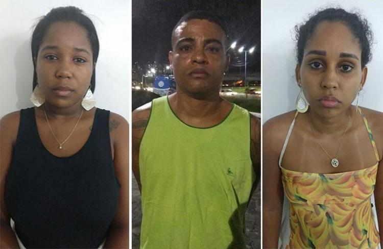 Trio foi apresentado na Central de Flagrantes - Foto: Divulgação   SSP