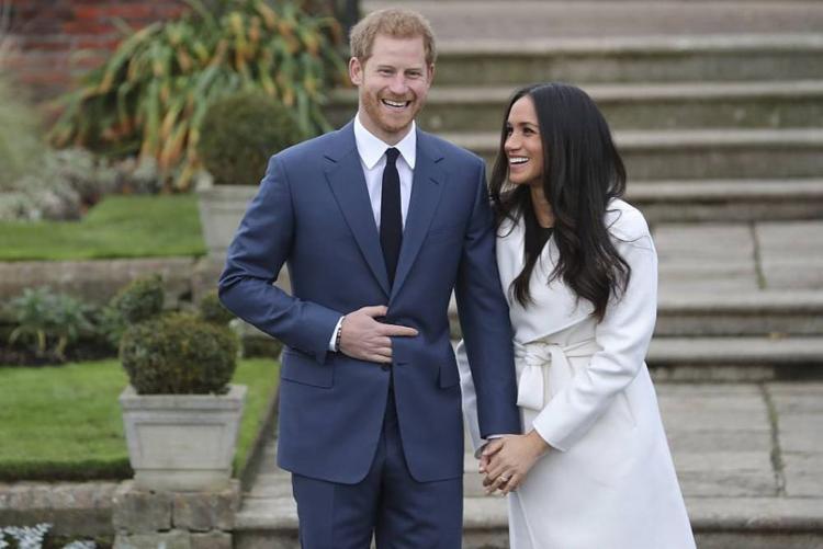 Herry e Meghan vão se casar no dia 19 de maio deste ano - Foto: Daniel Leal | AFP