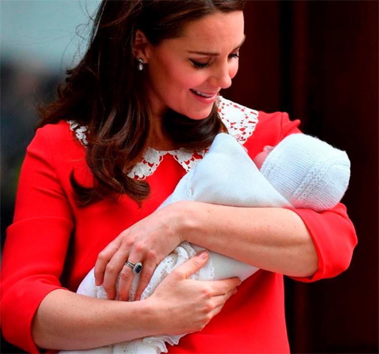 Michelle propôs um encontro com festa do pijama para o novo filho de Kate Middleton - Foto: Reprodução   Instagram