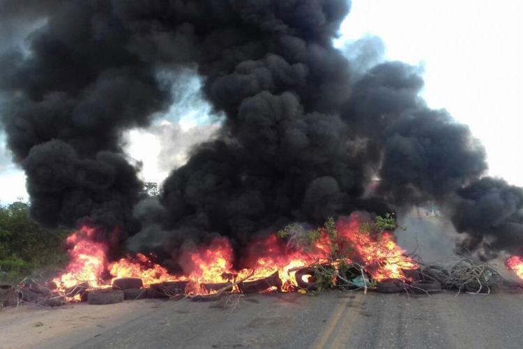 Protesto acontece nas imediações da BR-116 - Foto: Divulgação | CUT