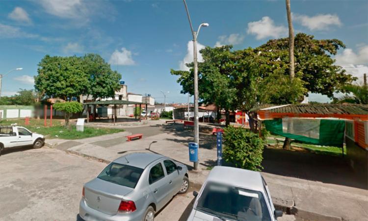Acidente ocorreu na praça Mussurunga, em Mussurunga I - Foto: Reprodução | Google Maps