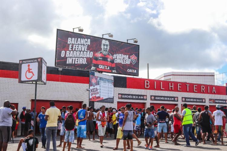 Venda acontece somente no Barradão nesta terça-feira, 3 - Foto: Divulgação | E.C Vitória