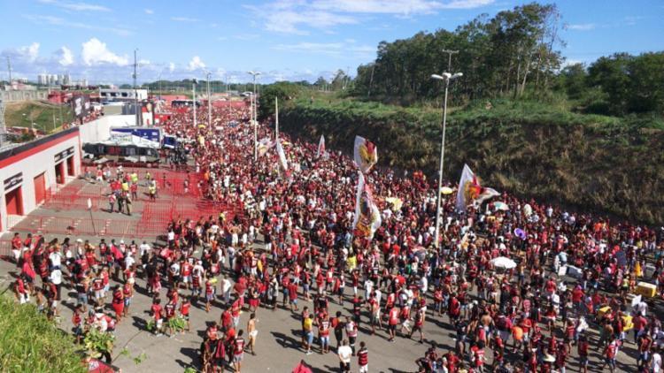 Confronto acontece no próximo domingo, 5, às 16h, no Barradão - Foto: Raul Spinassé | Ag. A TARDE
