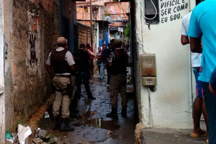 Crime aconteceu na Travessa Santos Drumond - Foto: Euzeni Daltro | Ag. A TARDE