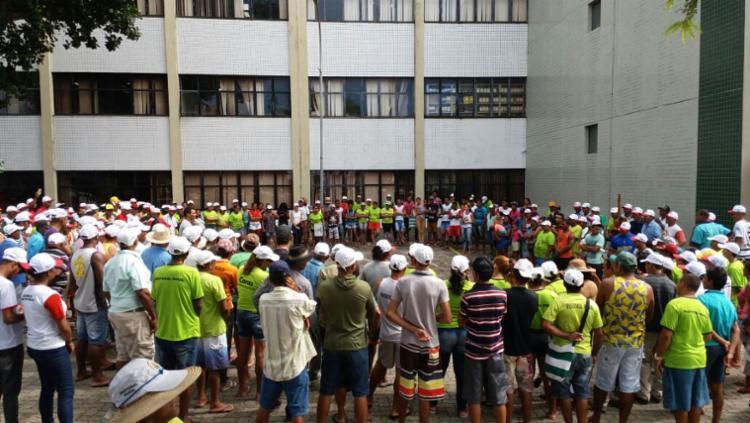 Assentados ocupam o Ingra, em Sussuarana - Foto: Divulgação | CUT