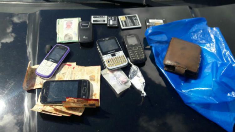 Materiais apreendidos na casa de Joselito durante a operação - Foto: Divulgação | SSP