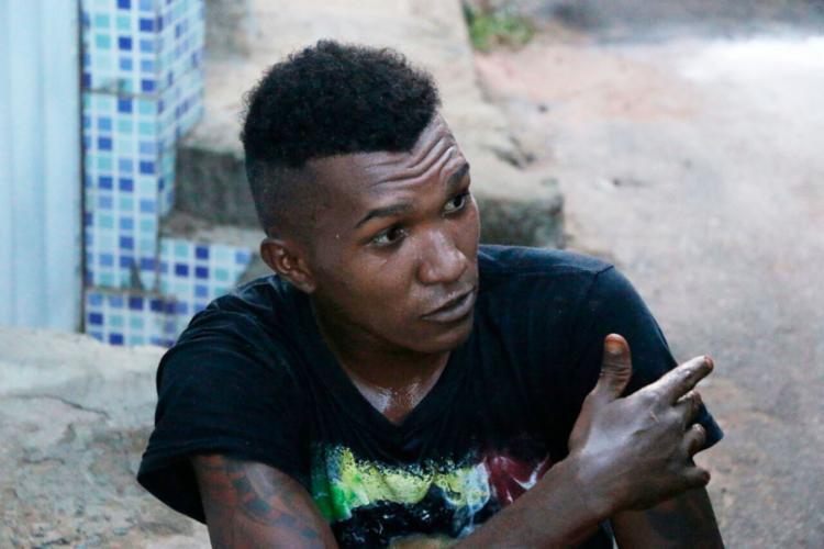 Dudu foi socorrido para o Hospital do Subúrbio - Foto: Alberto Maraux | SSP-BA