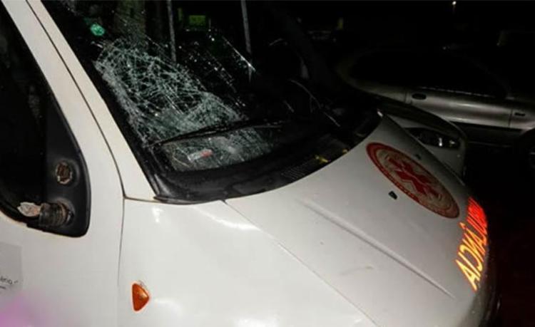 Equipe do Samu seguia para atender uma vítima de atropelamento - Foto: Reprodução | SigiVilares