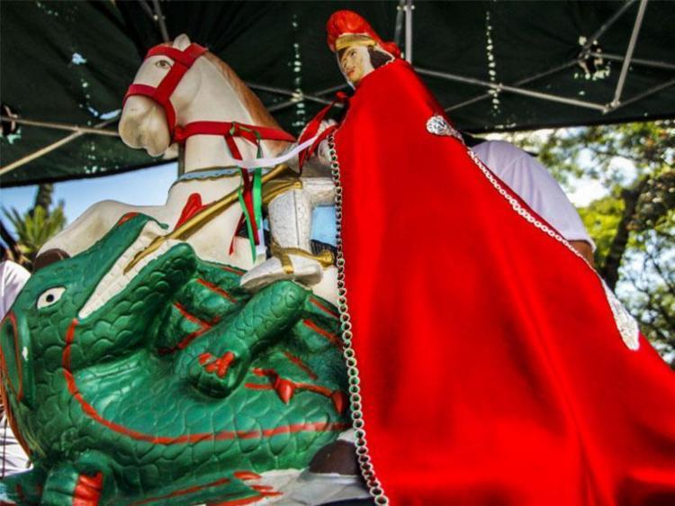 Santo foi celebrado com uma alvorada e repique de sinos no início da manhã - Foto: Marcelo Pinto   APlateia   Fotos Públicas