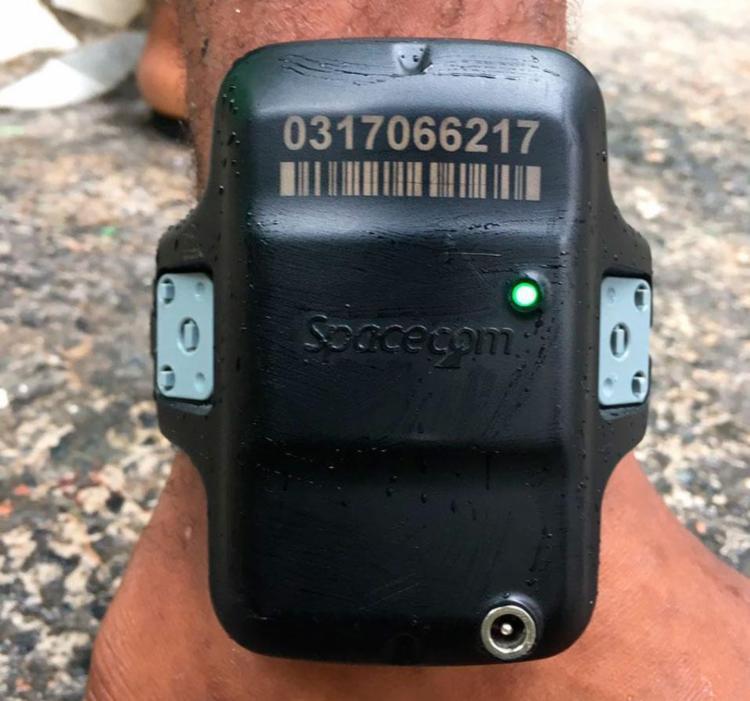 Aparelho foi localizado durante abordagem policial - Foto: Divulgação | SSP