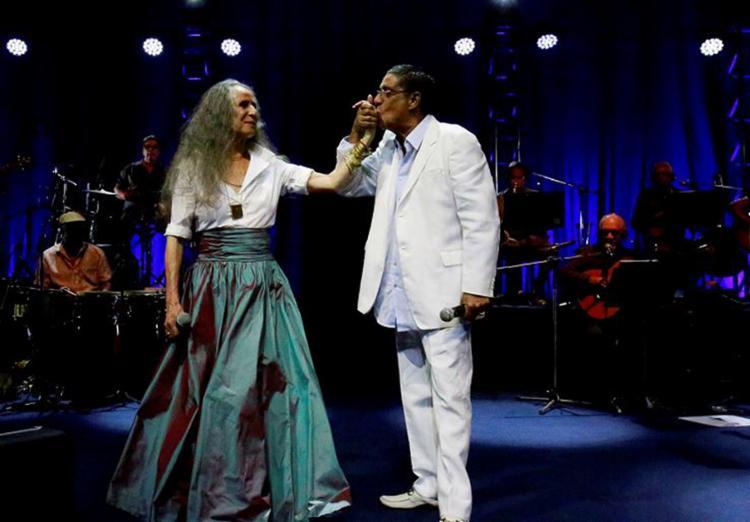 Show aconteceu na noite do sábado, 14, no palco da Concha Acústica do TCA - Foto: Luciano da Matta l Ag. A TARDE