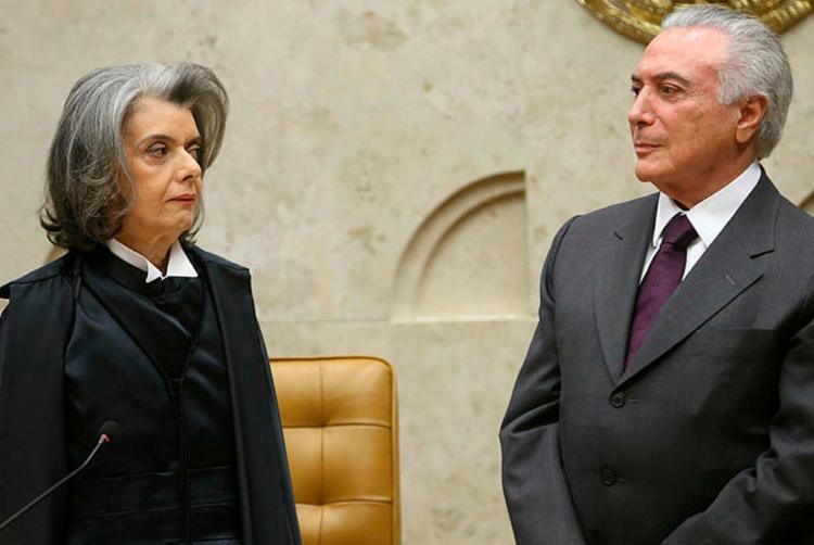 Cármen assumirá a Presidência da República pela primeira vez nesta sexta-feira - Foto: Wilson Dias | Agência Brasil