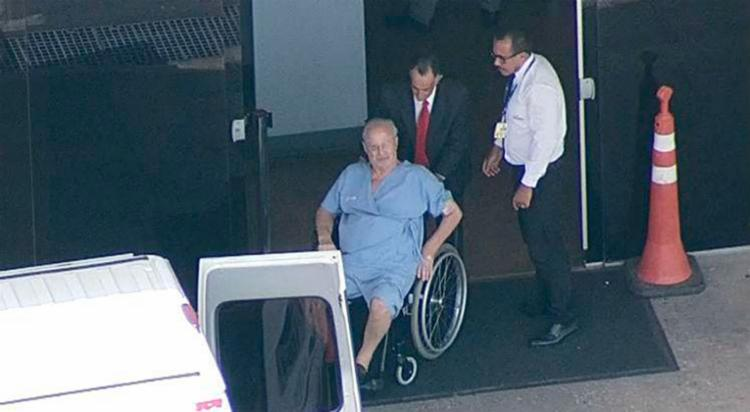 Maluf faz tratamento contra um câncer de próstata em estágio evoluído - Foto: Reprodução | Globo News