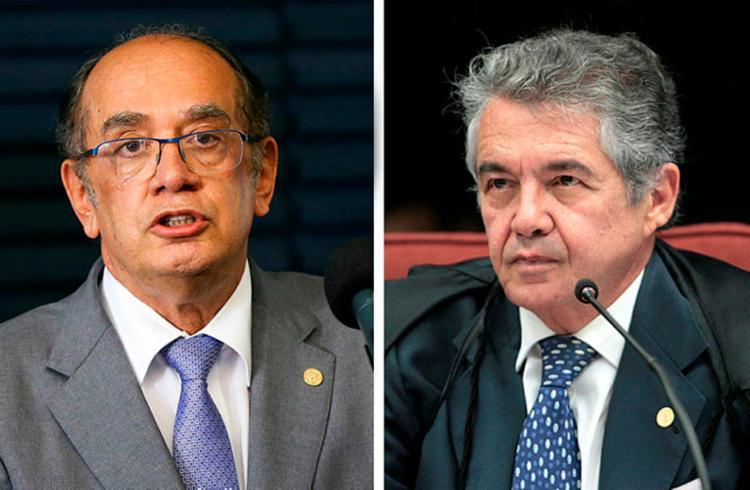 Gilmar Mendes e Marco Aurélio Mello votaram favoráveis ao recurso - Foto: Divulgação | STF