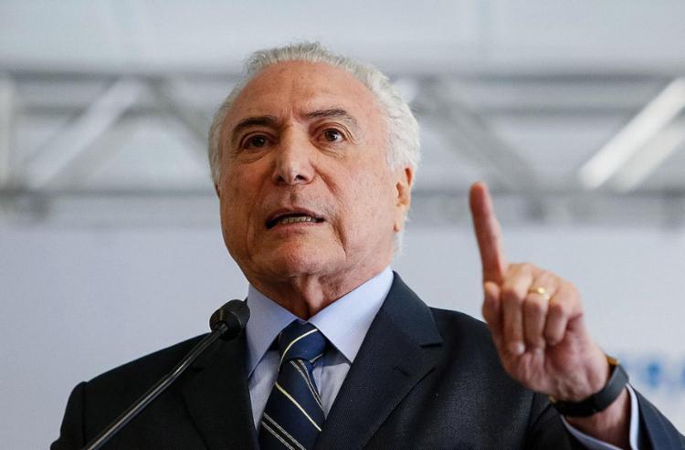 Temer vai empossar ministros em cerimônia no Palácio do Planalto - Foto: Alan Santos l AFP