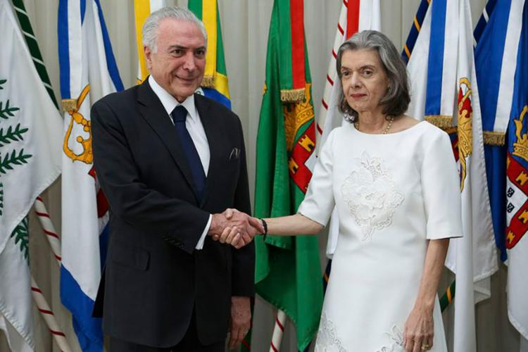 Data será comemorada em 2 de abril; ministra do STF é a segunda mulher na história a comandar o País - Foto: Marcos Corrêa l PR