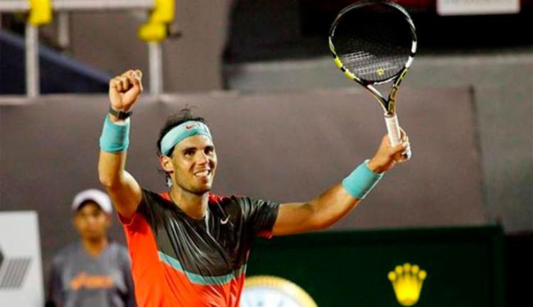 Rafael Nadal venceu por 2 sets a 0 - Foto: Rio Open | Divulgação