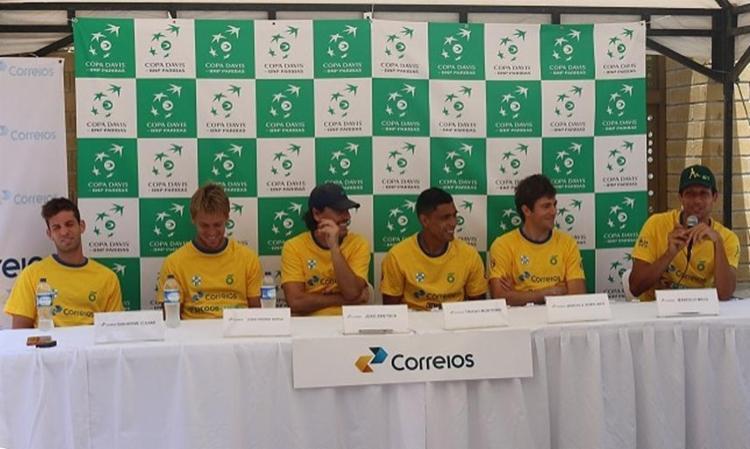 O capitão João Zwetsch definiu os jogadores de simples do Time Correios Brasil - Foto: Divulgação l CBT