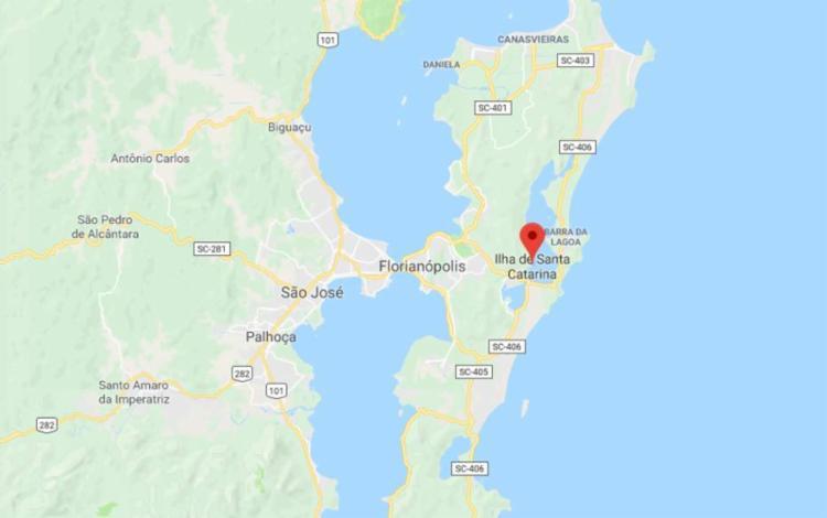 Tremor de 3,6 pontos desta sexta-feira em Santa Catarina foi o maior registrado no país este ano - Foto: Reprodução   Google Street View