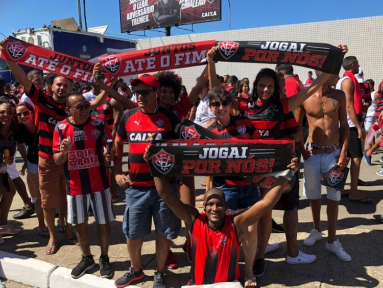 Clube espera o apoio da torcida para vencer a segunda seguida em casa - Foto: Margarida Neide | Ag. A TARDE
