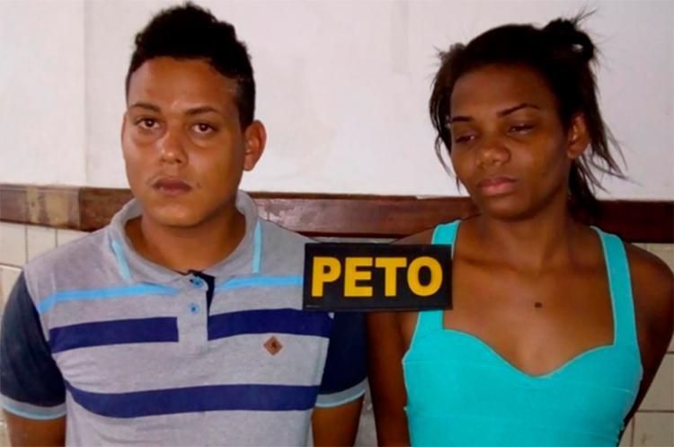 Edson Coelho e Mariane Sales vão responder por tráfico de drogas - Foto: Divulgação | Polícia Militar