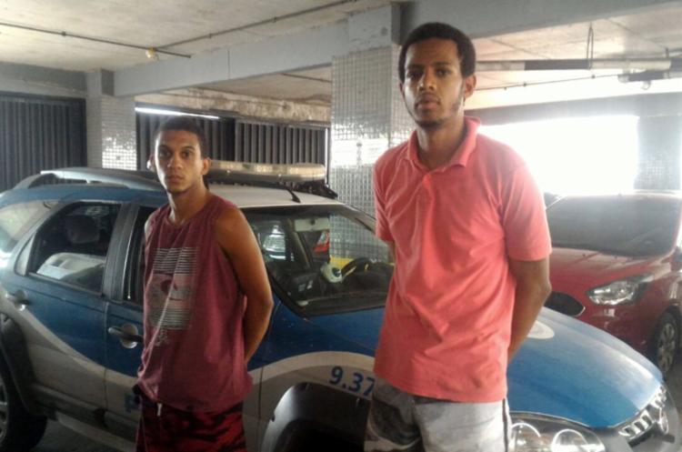 Dois dos suspeitos foram capturados com drogas na região do Milho - Foto: Divulgação | SSP