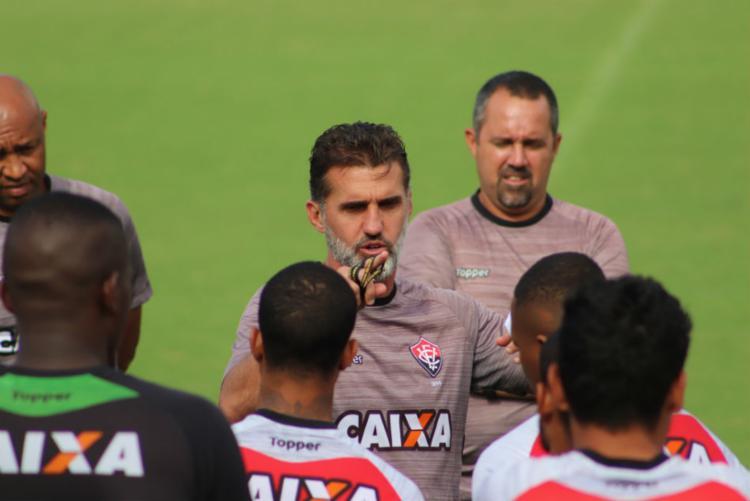 Equipe se prepara para duelo contra o Corinthians nesta quarta-feira, 25, no Barradão - Foto: Maurícia da Matta   EC Vitória