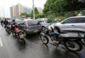 Motoristas fazem fila para tentar abastecer em posto no Stiep | Foto: