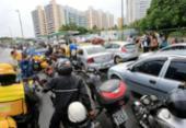 Corrida por combustível gera fila e protesto em posto no Stiep | Foto: Margarida Neide | Ag. A TARDE